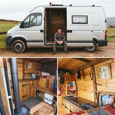 Some great pics from video/photo shoot on earlier this year. Renault Master, Sprinter Van Conversion, Camper Conversion, Ducato Camper, Diy Van Conversions, Diy Camper Trailer, Van Conversion Interior, Transit Camper, Van Dwelling
