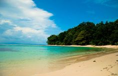 Radhanagar Beach (No 7), Havelock Island, #India. It takes a special permit, 2 planes, a boat or ferry and a jeep ride to get here from the mainland but it is breathtaking.