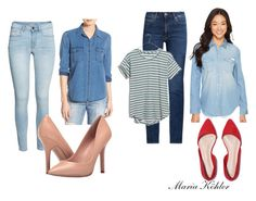 Jeans look by mariakohler-imageconsulting on Polyvore featuring Joe's Jeans, Calvin Klein Jeans, Madewell, M.i.h Jeans and Charles by Charles David