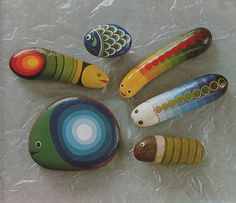 Painting Stones, page 9 by TinTrunk, via Flickr