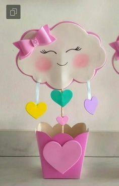 Niver Bianca Rainbow Birthday, Unicorn Birthday, Unicorn Party, Girl Birthday, Birthday Parties, Kids Crafts, Foam Crafts, Diy And Crafts, Paper Crafts