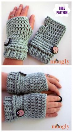 Ups & Downs Slouchy Hat & Gloves Set Free Crochet Patterns - Hetty J. : Ups & Downs Slouchy Hat & Gloves Set Free Crochet Patterns – Crochet Fingerless Gloves Free Pattern, Crochet Beanie Pattern, Mittens Pattern, Fingerless Mitts, Crochet Slouchy Hat, Motifs Beanie, Knitting Patterns, Crochet Patterns, Hat Patterns