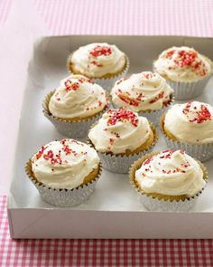 The Perfect Yellow Cupcakes Recipe