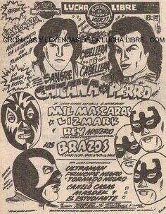 Carteles viejos de lucha libre (FOTOS) -Más de MX