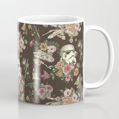 I'm a little bit obsessed with this. :: Botanic Star Wars Mug