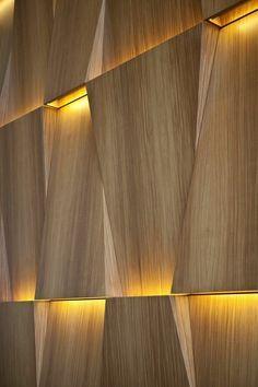 lambris mural design et panneaux d co en lamelles de bois id es pour la maison pinterest. Black Bedroom Furniture Sets. Home Design Ideas