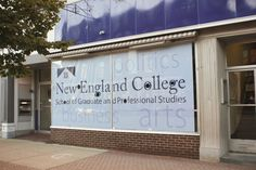 New England College School of Graduate and Professional Studies. Concord location.