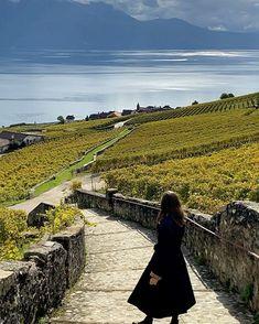 Swiss Travel, Switzerland, Terrace, Vineyard, Mountains, Nature, Beautiful, Balcony, Naturaleza