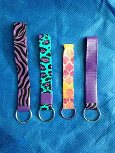 Duct Tape keychains