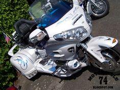 Trike Chopper, Trike Motorcycle, Custom Trikes, Goldwing Trike, Old Motorcycles, 3rd Wheel, Sidecar, Honda, Motor Car