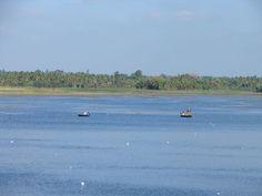 Fishermen on the freshwater lake.   #india #incredibleindia #travel