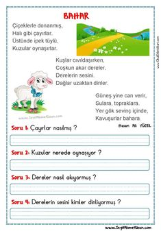 Turkish Lessons, Learn Turkish, Turkish Language, Classroom Rules, Reading Passages, Grade 1, Drama, Teaching, Math