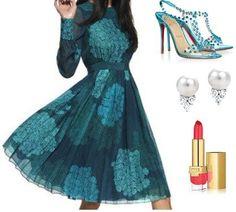Ksenia-Bradner's stylebook at ShopStyle: Ksenia Bradner in Giambattista Valli on shopstyle.com