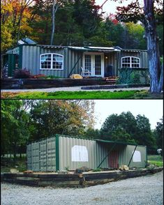 🎄Are You Looking For A Step-By-Step Shipping Container Home Guide which includes Hundreds of Modular Container Home Detailed Plans? Bone Shaker, Building A Container Home, Las Vegas Homes, Container Architecture, Shipping Container Homes, Cabin Homes, Future House, Shed, Outdoor Structures