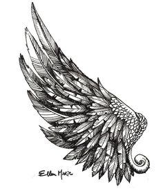 1000 Ideas About Wing Tattoos On Pinterest Angel Wing Tattoos Simple tattoos Inspire