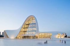 Today is Zaha Hadids 67th birthday! Were remembering glorious architecture of Zaha Hadid.  Heydar Aliyev Centre in #Baku completed in 2013. This poetic image by @iwanbaan #zahahadid #happybirthdayzahahadid #zahahadidarchitects #baku #heydaraliyevcenter  - Architecture and Home Decor - Bedroom - Bathroom - Kitchen And Living Room Interior Design Decorating Ideas - #architecture #design #interiordesign #homedesign #architect #architectural #homedecor #realestate #contemporaryart #inspiration…