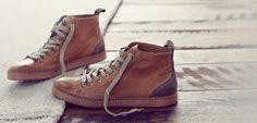 """Geox """"U Camden"""" Leather Sneaker"""