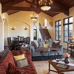 Living Room DREAM SPANISH STYLE LIVING Design, Pictures, Remodel, Decor and Ideas