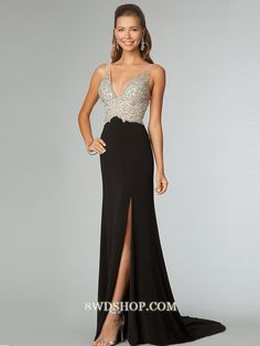 32405fde971 2014 Full Beaded Tulle Bodice Backless Sexy Chiffon Prom Dress Court Train  Black pas cher et abordable - VoguePromDresses.