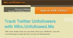 Como saber quien nos dejo de seguir en Twitter