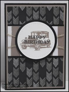 A Stampin' Up! Masculine Birthday Cards, Birthday Cards For Men, Man Birthday, Masculine Cards, Birthday Ideas, Greeting Cards Handmade, Creative Inspiration, Cardmaking, Stampin Up