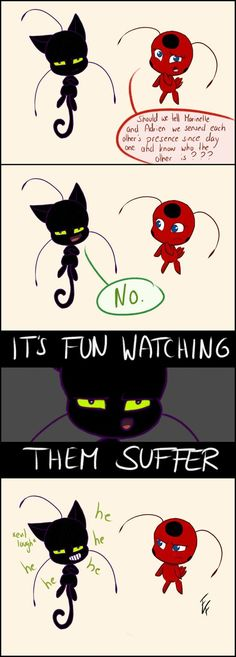 Miraculous Ladybug and Chat Noir: Why Don't They Know Yet? Funny Plagg and Tikki. Ladybug and Chat Noir. Lady Bug, Ladybug Und Cat Noir, Cat Noir And Ladybug Comics, Ladybug And Cat Noir Reveal, Tikki And Plagg, Miraculous Ladybug Fan Art, Miraculous Ladybug Plagg, Plagg Miraculous, Film Anime