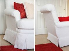 Reupholstering Instructions.... Best step by step version I've seen. There are a ton of pictures. Now to convince my husband to let me try this on our living room chairs