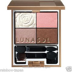 Kanebo LUNASOL PETAL PURE EYES 01 Sweet Peach Makeup Eyeshadow JAPAN