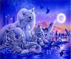 Diamond Mosaic Animals Counted Cross Atitch Tigers And Lion For Choice Diamond Embroidery Full Diamond Painting Tiger Handicraft #Affiliate