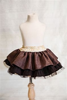Persnickety Clothing - Lily Skirt in Brown