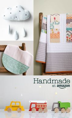 Explore unique hand-crafted nursery bedding, baby gear, nursery decor, and more. Indoor Crafts, Eco Baby, Baby Makes, Baby Store, Nursery Bedding, Baby Crafts, Handmade Baby, Toddler Toys, Baby Sewing