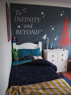 Styling a kids room with a space theme - Kid friendly spaces - . Styling a kids room with a space theme – Kid friendly spaces –
