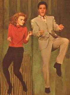 """Elvis and Ann-Margret """"Viva Las Vegas"""" Watch: https://www.youtube.com/watch?v=XoUPFVdOpE0"""