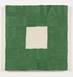 Alighiero Boetti - Le Infinite Possibilità di Esistere.  Embroidered textile, 1990