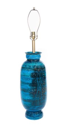 Rimini Blue Lamp by HOEDEMAKER PFEIFFER