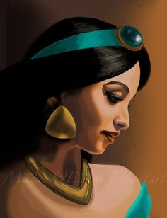 Real Jasmine by Mickey89Eli.deviantart.com on @deviantART