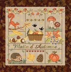 click here to view larger image of Matin d Automne (chart)