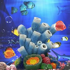 Coral Air Bubble Stone Oxygen Pump Aquarium Fish Tank Pond Hydroponic Oxygen Diffuser Tube Landscaping Ornament Decoration. Yesterday's price: US $14.75 (12.13 EUR). Today's price: US $13.72 (11.23 EUR). Discount: 7%.
