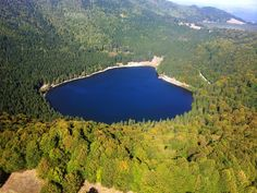 Sfantu Lacul Ana - The Only Crater Lake In Romania Beauty Around The World, Places Around The World, Around The Worlds, Beautiful Places To Visit, Wonderful Places, Places To See, Romania Facts, Visit Romania, Little Paris