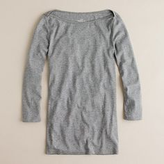 Perfect Fit Boatneck Tee $24.50  this is something i would buy in 5 different colors...