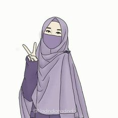 This domain may be for sale! Cute Drawings Of Love, Girly Drawings, Cute Muslim Couples, Muslim Girls, Girl Cartoon, Cartoon Art, Hijab Logo, Hijab Drawing, Wallpaper Hp