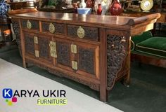 View this item and discover similar for sale at - Antique Chinese Altar Table/Coffer CHI T'A SHIH CH'U Three drawers and storage compartment Asian Furniture, Chinese Furniture, Living Furniture, Table Furniture, Luxury Furniture, Modern Furniture, Furniture Design, Chinese Cabinet, Chinese Interior