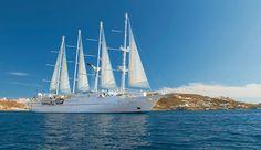 Wind Star Ship in Greece