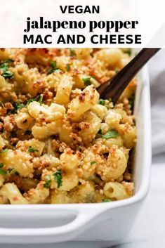 This vegan jalapeno popper mac and cheese is easy to make and super creamy veganrecipe macandchee This vegan jalapeno popper mac and cheese is easy to make and super creamy veganrecipe macandchee Pizzeria Sirenetta vegan nbsp hellip And Cheese jalapeno Vegan Dinner Recipes, Vegan Recipes Easy, Vegetarian Recipes, Cooking Recipes, Bacon Recipes, Milk Recipes, Yummy Recipes, Cooking Tips, Simply Recipes
