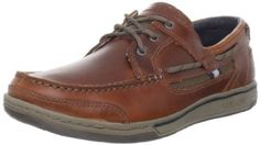Sebago Men's Triton Three Eye Boat Shoe Sebago. $63.27. leather. Rubber sole