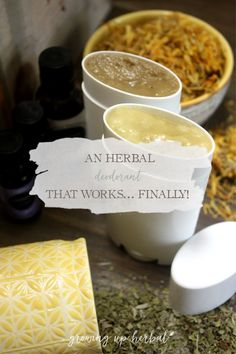 Can't seem to find a natural deodorant that works for you? Me neither... until now. Get this DIY recipe for an herbal deodorant that works amazingly well! Natural Excema Remedies, Natural Remedies For Migraines, Natural Beauty Remedies, Natural Deodorant That Works, Easy Diet Plan, Diy Recipe, Natural Health, Herbalism