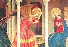 Annunciation by Beato Angelico