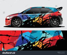 Find Rally Car Decal Graphic Wrap Vector stock images in HD and millions of other royalty-free stock photos, illustrations and vectors in the Shutterstock collection. Car Stickers, Car Decals, Vinyl Decals, Racing Car Design, Drift Trike, Islamic Art Calligraphy, Rally Car, Car Wrap, Advertising Design