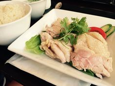海南鶏飯大盛り