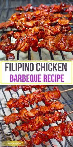 This Chicken Barbeque recipe is a Filipino version which is on the sweeter side as compared to other chicken barbeque recipes. The fondness of Filipinos to grilling or cooking over hot charcoals is so evident. You can buy the chicken barbeque along street corners and in front of your neighbour's house.